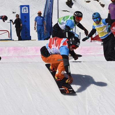 Competición de snow en Baqueira Beret.